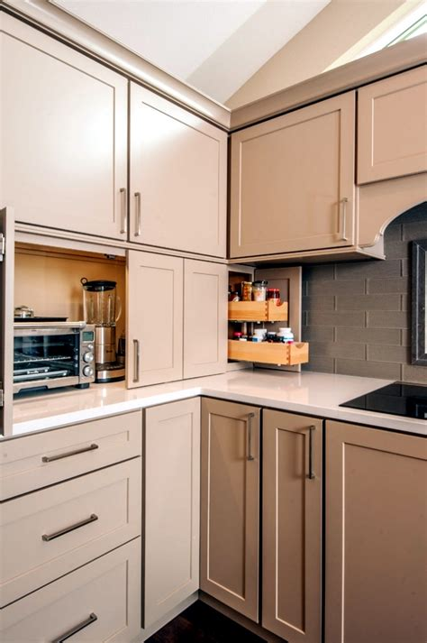 ideas  hide appliances   kitchen interior