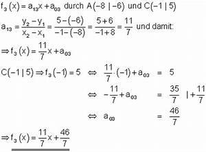 Senkrechte Gerade Berechnen : l sungen lineare funktionen teil xiv ~ Themetempest.com Abrechnung