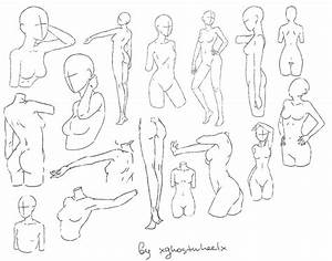 Woman Figure Sketch Standing | www.imgkid.com - The Image ...
