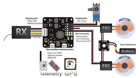 Wiring Cc3d Spektrum by подключение полетных контроллеров Coptercontrol Cc3d