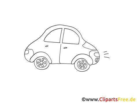 alltagsauto zeichnung grafik schwarz weiss clipart bild