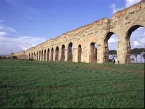 Roman Aqueducts in Rome