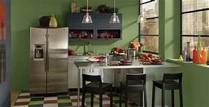 Colorful, Scene, Kitchen