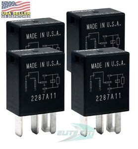 omron high current 40a 12v automotive 5 pin relay micro