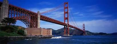 Dual Screen Bridge Wallpapers Golden Gate Monitor