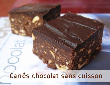dessert sans cuisson au four carr 233 s tout chocolat sans cuisson