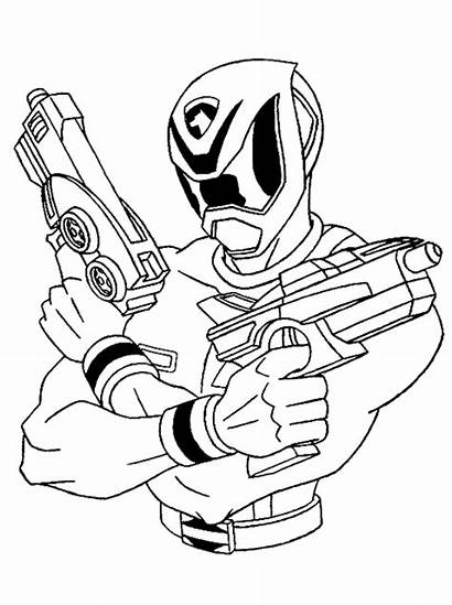 Rangers Power Coloring Pages Printable Powerrangers Cartoon