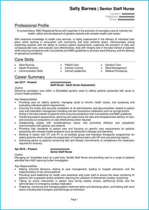cv samples  kenya   resume examples