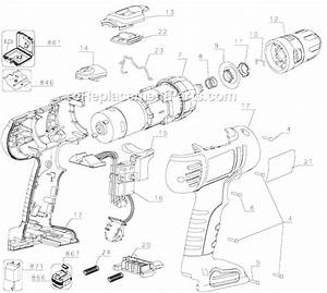 Black And Decker Fsd142 Parts List And Diagram