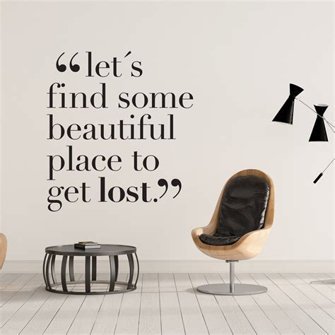 Lets Get Lost   Moonwallstickers.com