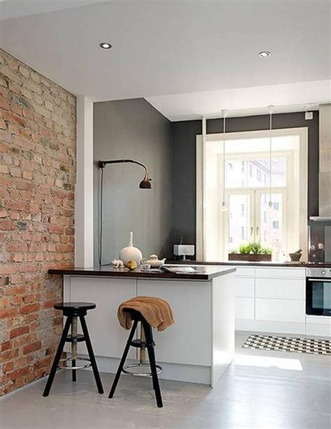 mur de cuisine peinture cuisine 40 idées de choix de couleurs modernes