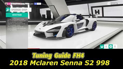 240 mph maximum speed limit with tune: Mclaren P1: Forza Horizon 4 Mclaren Senna Handling Tune