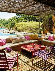 small and cozy bohemian outdoor spaces house design and With decoration exterieur de jardin 10 deco salon hippie chic