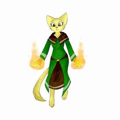 Fire Wizard Robe Katia
