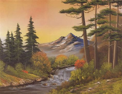 Shopping Bob Ross Autumn Fantasy 85977 Painting