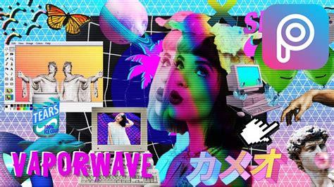 Cómo Hacer Foto Estilo VAPORWAVE con PicsArt Tumblr
