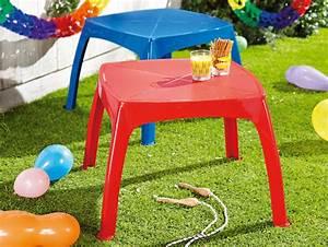 Table De Jardin Enfant : table de jardin enfant lidl france archive des offres promotionnelles ~ Teatrodelosmanantiales.com Idées de Décoration