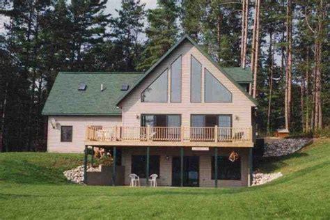 Custom Chalet Walk Out Basement  House Plans #43052