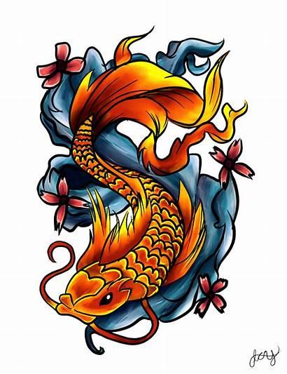 Tattoo Transparent Fish Tattoos Dragon Drawings Koi