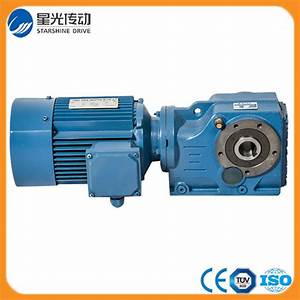 China Wholesale K Series Helical Bevel Gearbox For