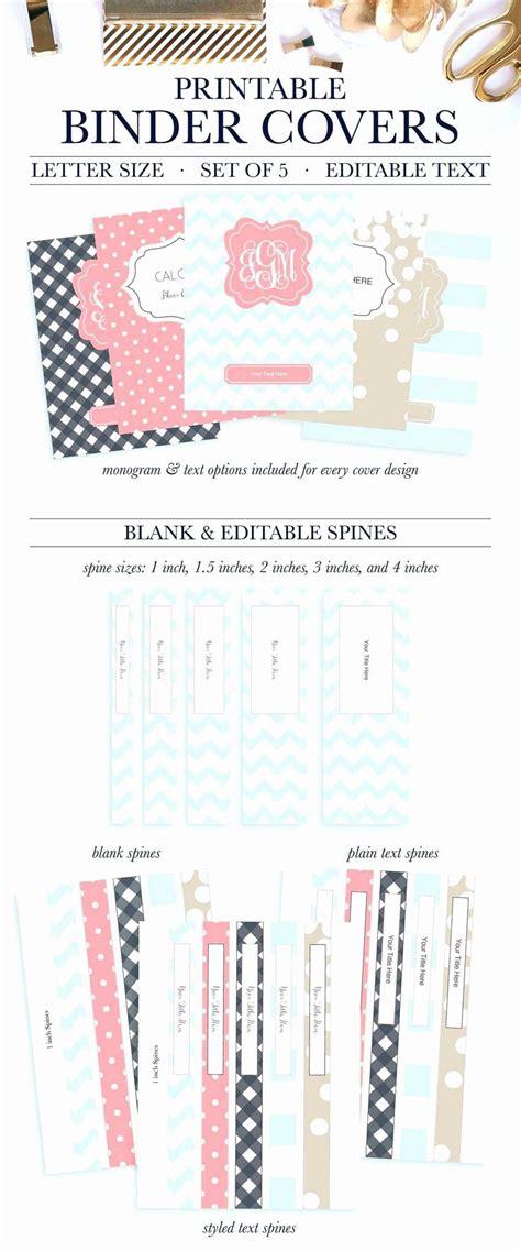 printable binder spine labels lovely  nouveau image de avery binder spine te school