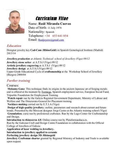 Curriculum Vitae Translation by Curriculum Vitae