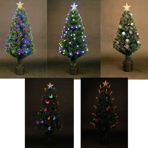 ebay prelit tree not working pre lit tree led fibre optic prelit light up home decorations ebay