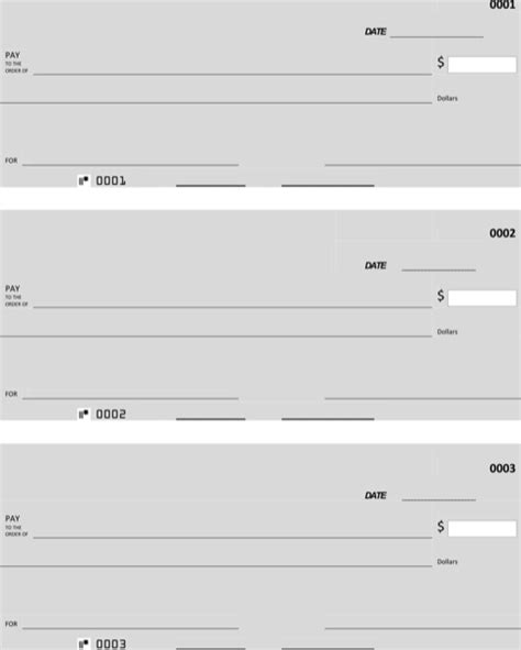 Free Blank Check Template Pdf by Blank Check Template For Free Formtemplate