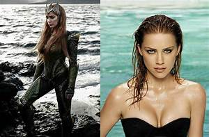 Amber Heard Looks Amazing As Mera Queen Of Atlantis