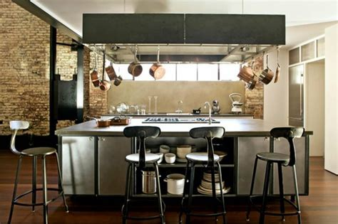 il central cuisine cuisine industrielle 43 inspirations pour un style industriel