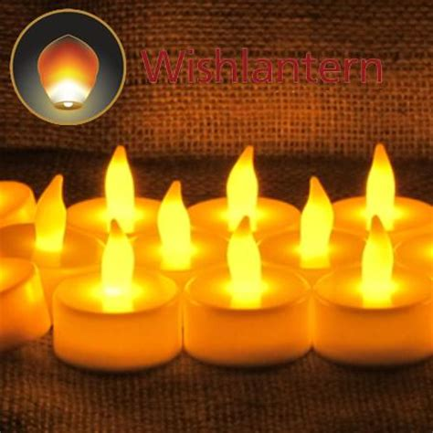 amber led tea lights led tea lights set of 12 amber yellow available from