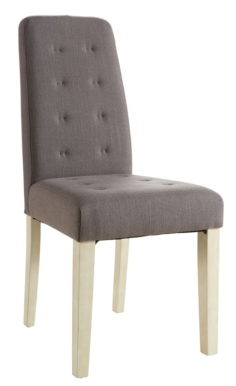 chaise moderne de salle a manger chaise de salle à manger contemporaine en tissu taupe lot