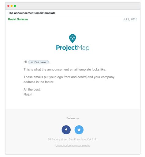 email template to announce your new 4 email templates to choose from intercom help center help support for intercom customers