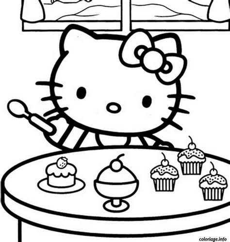jeux de cuisine de gratuit nouveaux coloriage dessin hello 280 dessin