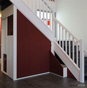 Lit Mezzanine Dressing : agr able chambre avec lit mezzanine 12 rangements sous ~ Premium-room.com Idées de Décoration