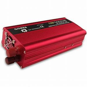 Car Vehicle Power Inverter 1500w Peak Dc 12v