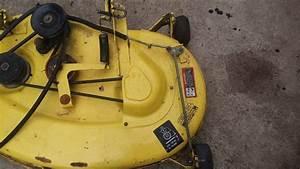 John Deere 38 U0026quot  Lx176 Mower Deck