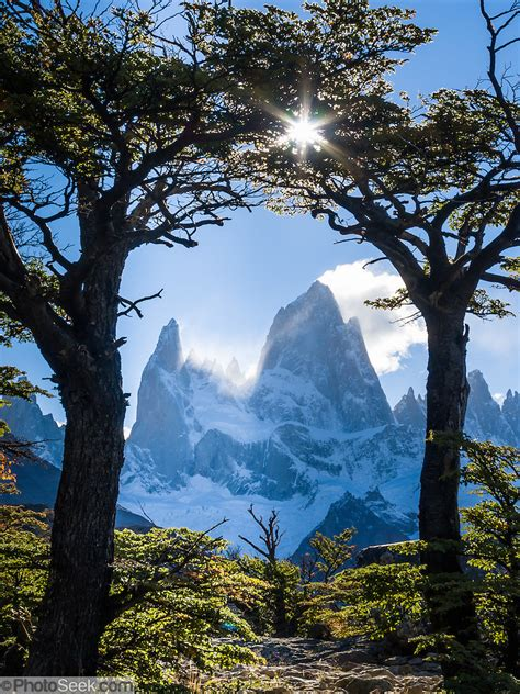 mount fitz roy andes mountains los glaciares national