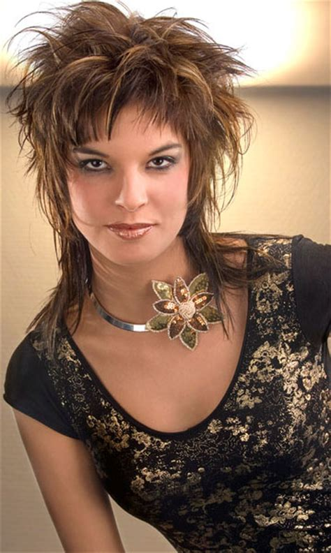 Funky Hairstyles by Medium Haircuts Funky Hairstyles Color Rich