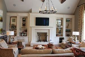 fireplace built ins living room traditional with ceiling With built in wall cabinets living room