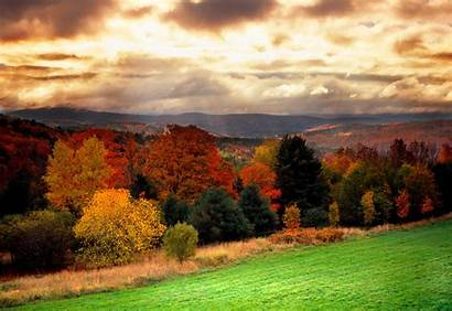 England Fall Foliage Vermont Autumn Forest Colors