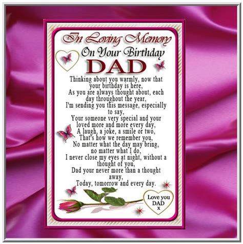 memory ls for deceased deceased father birthday quotes quotesgram