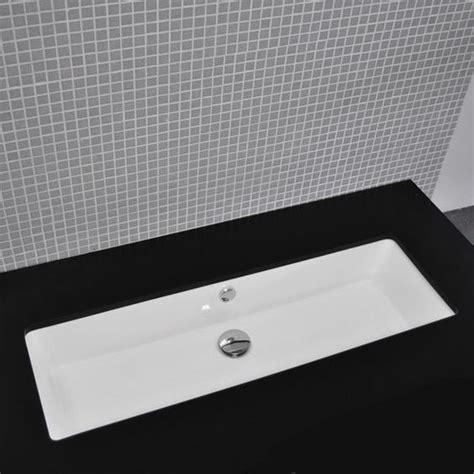double vanity trough sink undermount washbasin