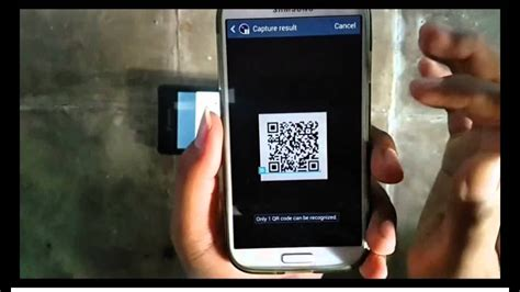 samsung galaxy s4 how to scan qr code android kitkat youtube