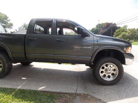 how make cars 2002 dodge ram 2500 lane departure warning sell used 2003 dodge cummins 2500 auto slt 4x4 in jefferson maryland united states