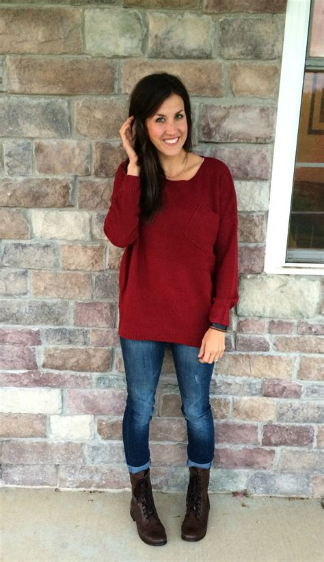 What I Wore How to wear Oversized Sweaters #RealMomStyle ...