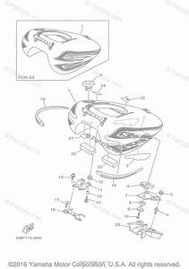 Yamaha Motorcycle 2010 Oem Parts Diagram For Fuel Tank