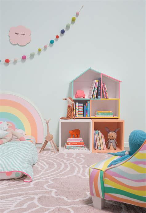 pattern adventures  rainbow bedroom  joy