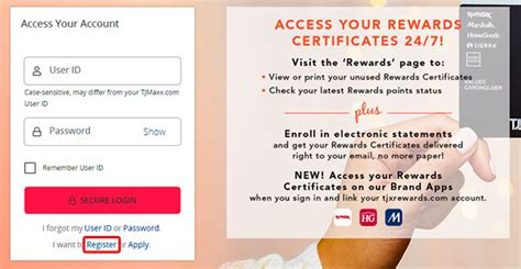 They offer normally lower prices than the other major retail stores in the country. TJ Maxx Credit Card Login, Sign Up, Password Reset, and Payment Methods