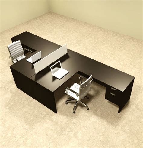 two person l shaped desk perfect 25 best ideas about two person desk on pinterest 2